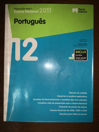 Livro preparação exames Português