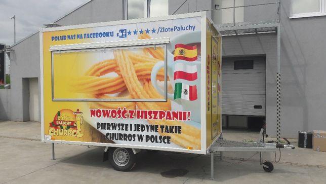 Przyczepa Gastronomiczna 3m wyposażona NOWA