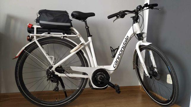 CANNONDALE rower trekkingowy miejski, elektryczny, damski, wspomaganie