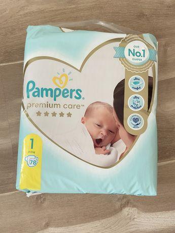 Підгузники Pampers Premium Care 1 78шт подгузники