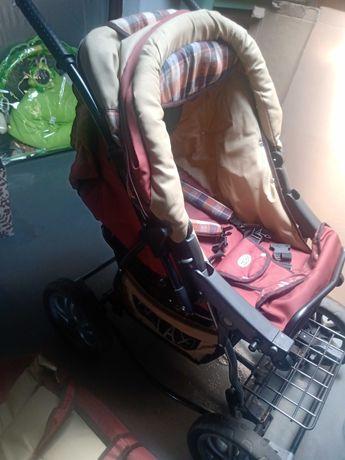 Wózek dziecięcy.