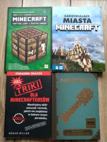 4 Książki poradniki minecraft