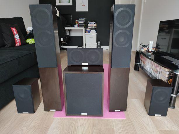 Kolumny TANNOY revolution dc4t zestaw głośników k5ina domowego