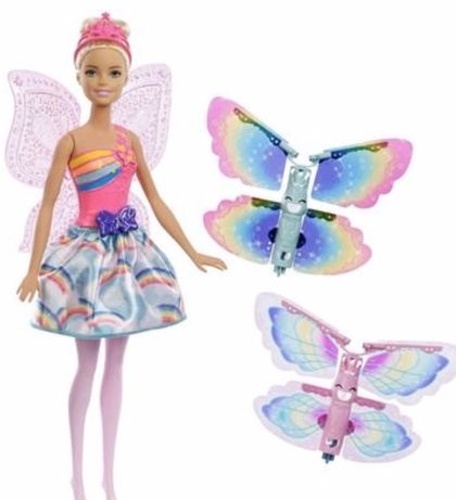 Barbie wróżka latające skrzydełka dreamtopia