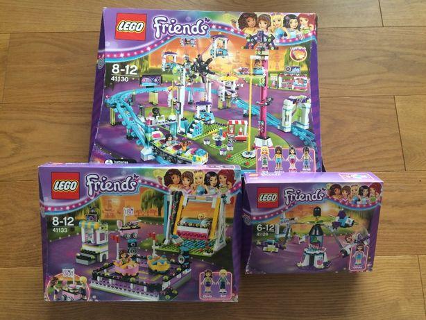 Lego Friends Park rozrywki - trzy zestawy