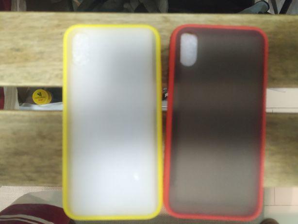 Capas iPhone X (duas)