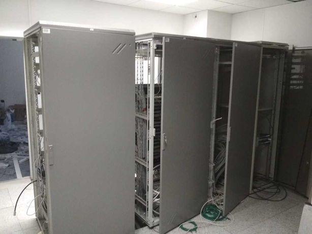 Szafa serwerowa / rakowa  , była serwerownia banku