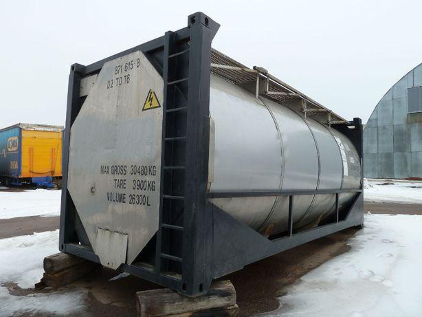 Танк-контейнер 20 футовый 26м.куб. с подогревом, Германия