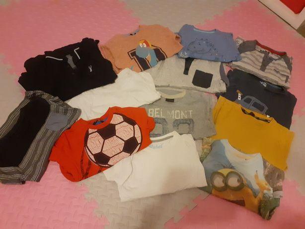 Zestaw koszulek chłopięcych 3-4 lata, 13 sztuk