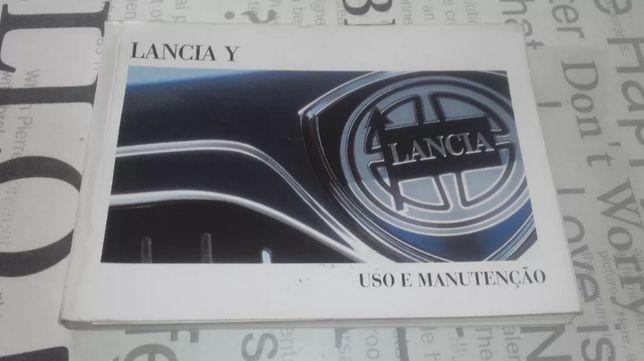 Lancia Y -Manual de utilizador