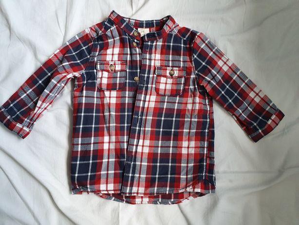 Koszula chłopięca h&m r.74