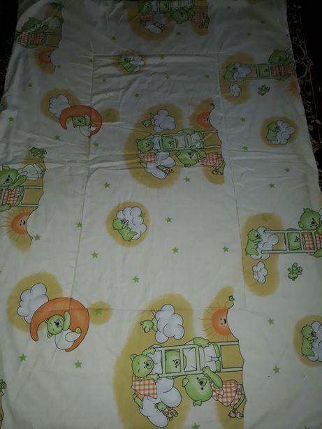 Одеяло детское 101×143