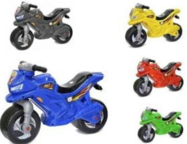 Толокар Беговел Мотоцикл Новый есть ОПТ