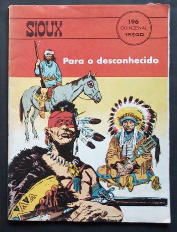 sioux para o desconhecido
