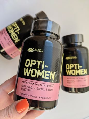 Женские витамины оптивумен optimal nutrition opti women