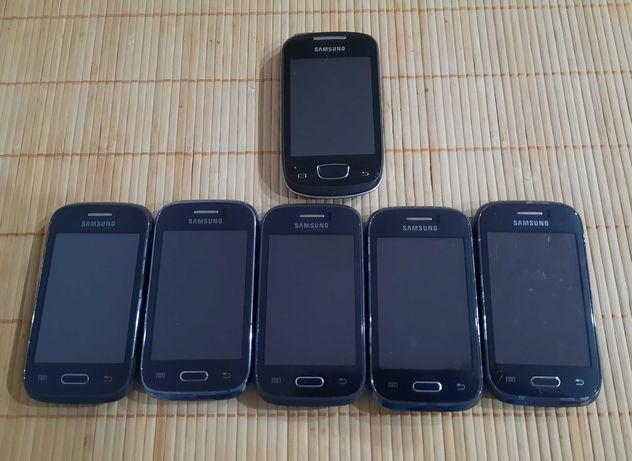 Samsung Galaxy GT-S6310  x5  + gratis sprawny telefon Samsung GT-S5570
