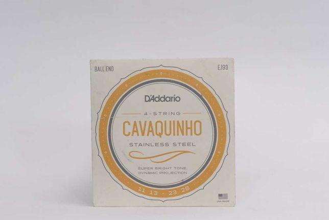 D'Addario EJ93 Cavaquinho stainless komplet strun