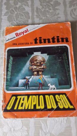 Colecção Tintin e o Templo do Sol 1970