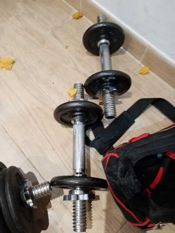 Halteres musculação peso