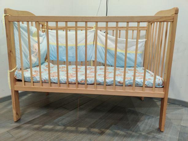 Детская кроватка,кровать из натурального дерева + ПОДАРОК!