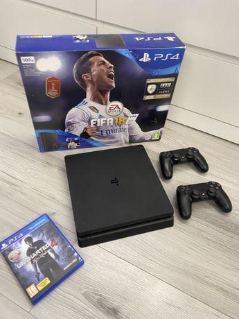 Sony Playstation 4 Slim 500Gb *PS4* *2 pady*