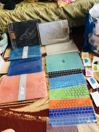 MacBook air 11-13- Чехол накладка Plastic Gloss