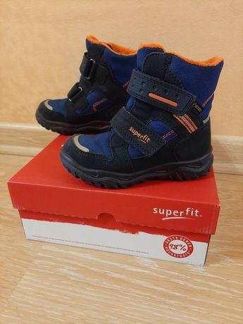 Superfit Суперфит ботиночки ботинки для мальчика зима 17см