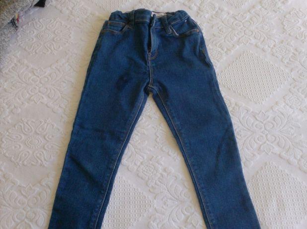 Calças de ganga, menina, 4-5 anos
