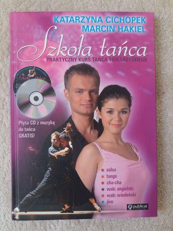 Szkoła tańca towarzyskiego nowa książka + CD
