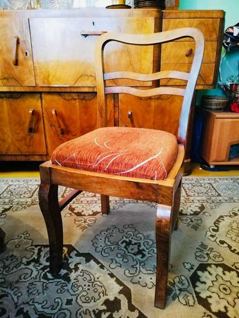 Krzesła drewniane gięte PRL - retro, vintage