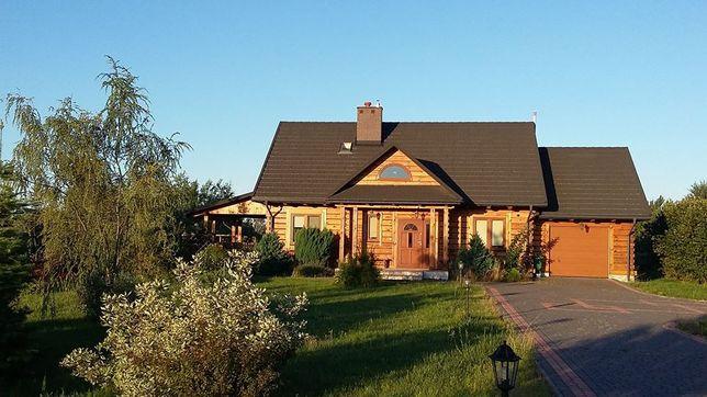 Komfortowy dom drewniany w okolicy uzdrowiska Nałęczów 80,- zł/os