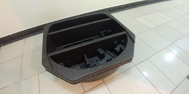 Wypełnienie bagażnika, zaślepka koła zapasowego Toyota Auris kombi II