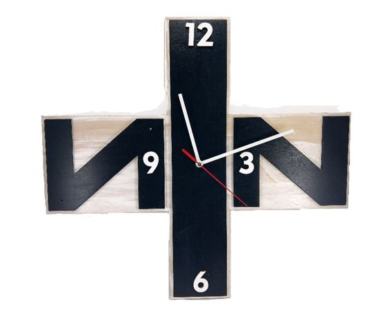 Часы с фанеры, NIN, Nine Inch Nails