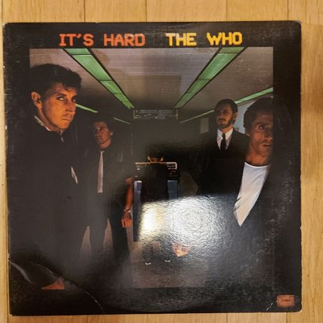 The Who, It's Hard, USA, WB, 1982, bdb