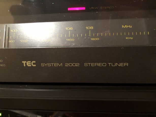 Tec system 2002 stereo tuner sprawny