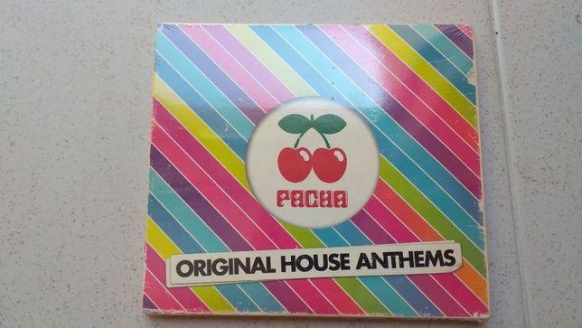 Pacha original sound anthems - 3 cd's novo e selado