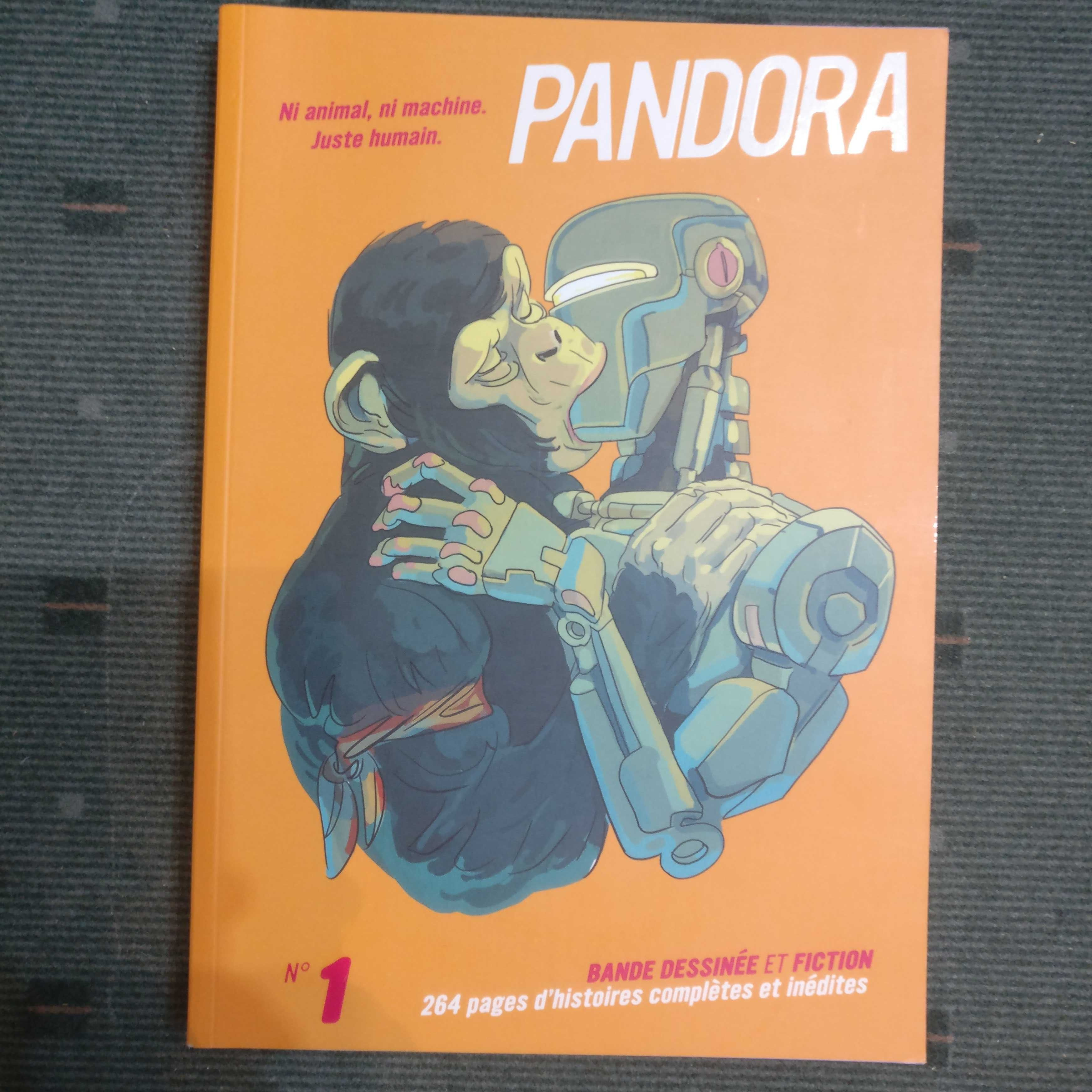 Livro BD Pandora Nº 1