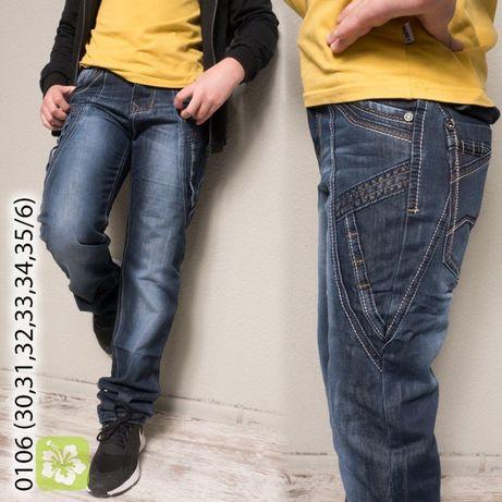 Дитячі джинси для хлопчика/підліткові.