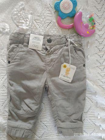 Фірмові штанішки для малюка з Італії 3 міс