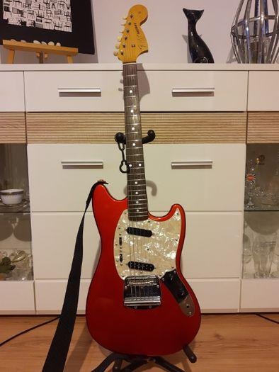 Gitara Fender Mustang MIJ japoński lata 90
