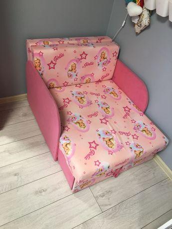 Łóżko fotel  Barbie 70x180