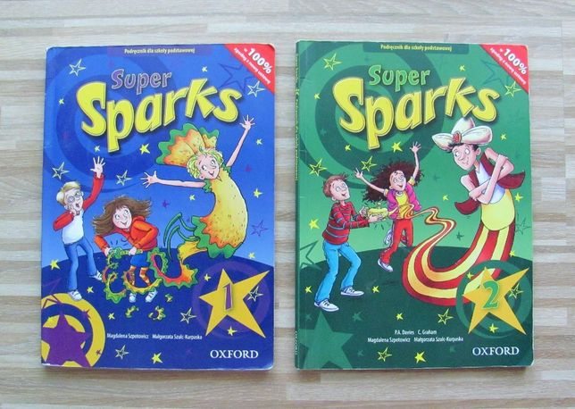 OXFORD Super Sparks - podręcznik części 1 i 2