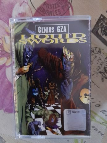 Kaseta Genius GZA Liquid swords,Wu-Tang Clan, Rap,Hip Hop