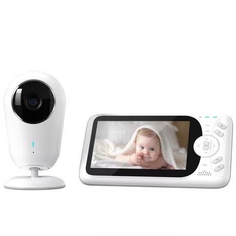 """Intercomunicador / Monitor de bebé Vídeo com ecrã de 4.3"""" — Novo"""