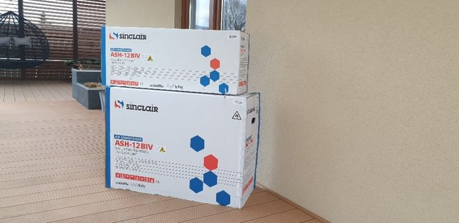 Klimatyzator Split Sinclair 3.5 Kw Nowy