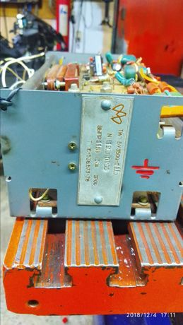 Привод с мотором постояного тока