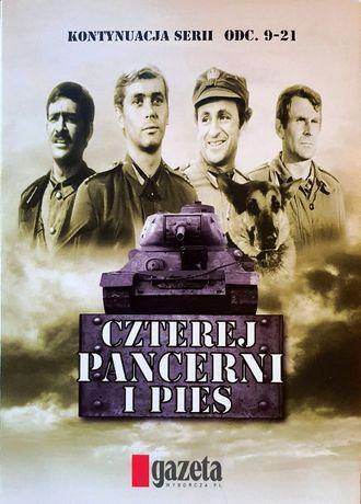 Czterej pancerni i pies - druga seria - płyty DVD