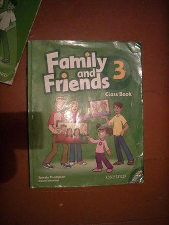Family and Friend Class Book 1 курс и 3 курс