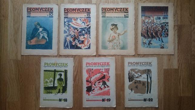 Płomyczek 1934 rok !!! 7 numerów.