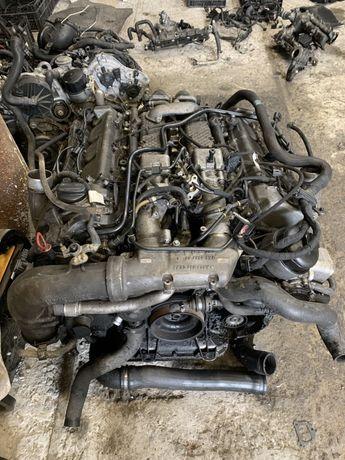 Разбор мотора ОМ628 4.0CDI шатун гбц поршень блок распредвал крышка